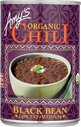 Amy's Organic Chili, Medium Black Bean, 14.7 Ounce