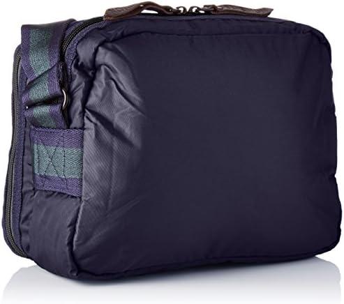 Bensimon Pocket Bag Borse a tracolla Donna, Bleu (Marine