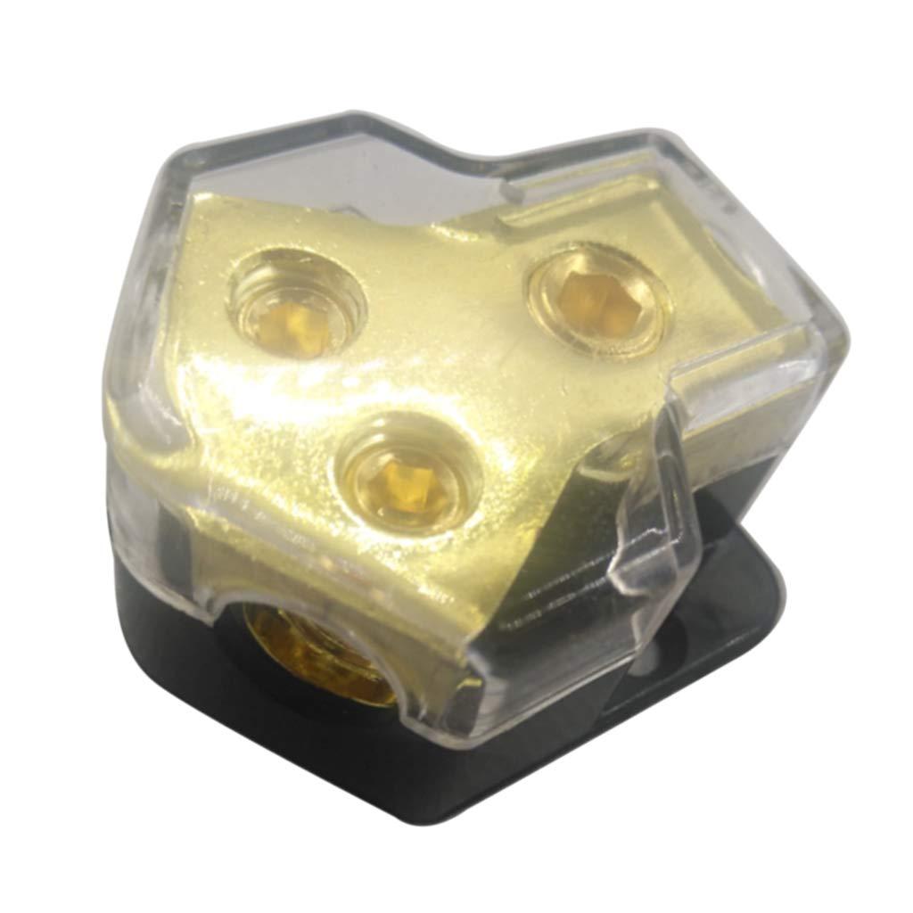 P Prettyia 2 Voies Voiture Audio Porte-fusible Bloc de Distribution dalimentation Emp/êcher Corrosion Rouille 1.77x1.57x0.87inch