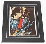 Carlos Santana Abraxas Black Magic Woman Authentic Signed Autographed 8x10 Glossy Photo Framed Loa
