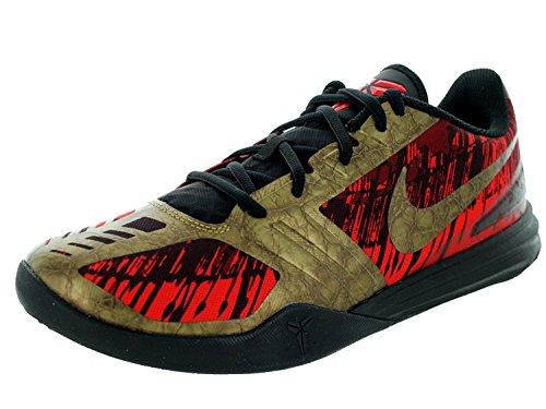 Nike Mens Kb Mentality Blk/Mtlc Agd Cn/Chillng Rd/Tm R Basketball Shoe 11 Men US, negro (Blk/Mtlc Agd Cn/Chillng Rd/Tm R), 45 D(M) EU/10 D(M) UK