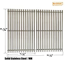 Bar.b.q.s Stainless Steel Replacement Cooking Grid for Grill Master 720-0670E and Broil-Mate 7020-54, 7020-64, 7123-64, 7123-64H and Master Forge 1010037 Gas Grill Models