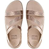 FitFlop Womens Crystall Z-Strap Sandals