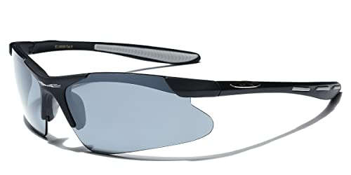 0e87c1a6420 Amazon.com  Triathlon Run Bike Super Light Xloop Black Sunglasses ...