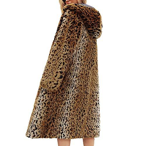 Maniche Cappotto Cappotto Cardigan Cappotto Donna Sintetica Pelliccia Pelle Autunno Lunghe Casuale Giacca di Cappotto Donna Donna Giallo Donna di Top Maglione BaZhaHei Lunghe Donna Maglieria Giacca 6XPUqU