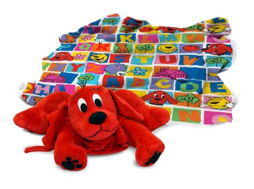 Clifford Plush Blanket Plush Toy & Pillow & Blanket by ZOOBIES