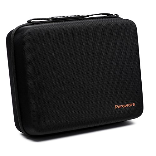 Peraware Universal Storage Carrying Case for Small Electronics Hard Drives Portable Devices and Accessories by Peraware