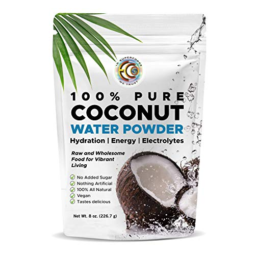 Earth Circle Organics Pure Coconut Water Powder | Hydration | Energy and Electrolyte Supplement | No Additives or Added Sugar | Vegan | Gluten Free (3 Pack) (Coconut Earth Oil Organics Circle)