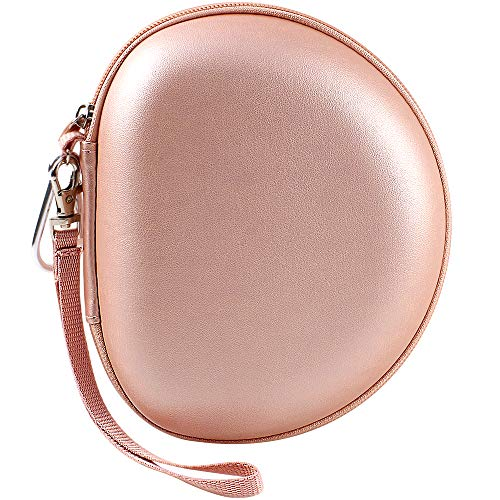 Headphone Case Compatible with Mpow 059/ H1/ H2/ H5/ Thor/Beats Solo3/ Solo2/ Picun P26/ iJoy Matte Finish/Elecder i39/ More Foldable Bluetooth Wireless Headset - Rose Gold