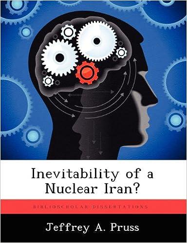 Book Inevitability of a Nuclear Iran?