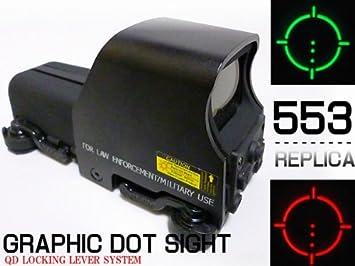 Eotech Dot Datesite 553 Replica Homesite Scope Qd Lever Integrated