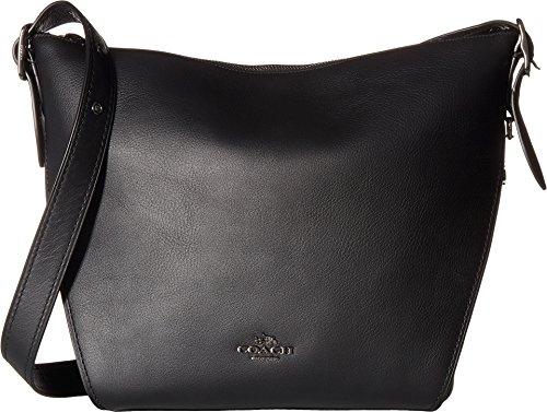 Black Coach Handbag - 6