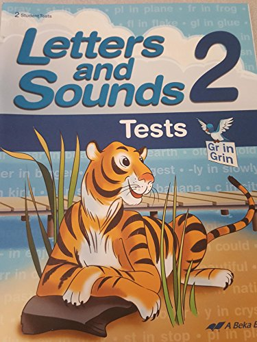 Letters and Sounds Test 2 (2 Student Tests), used for sale  Delivered anywhere in USA