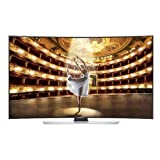 Samsung UN65HU9000 Curved 65-Inch 4K Ultra HD 120Hz 3D Smart LED TV by Samsung