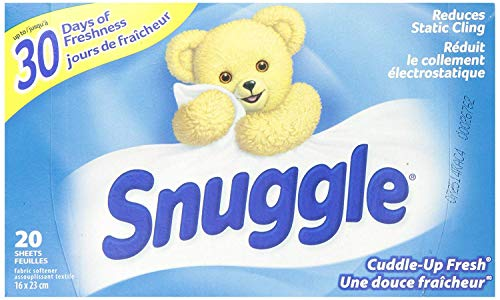 Snuggle Fabric Softner Dryer Sheets, Cuddle Up Fresh Scent, Reduces Static Cling - 480 Count by Snuggle (Image #3)