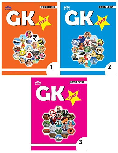 Gikso GK Star Combo of Class 1 2 and 3 Age 4-9 Years Old Kids Pack of 3 Books