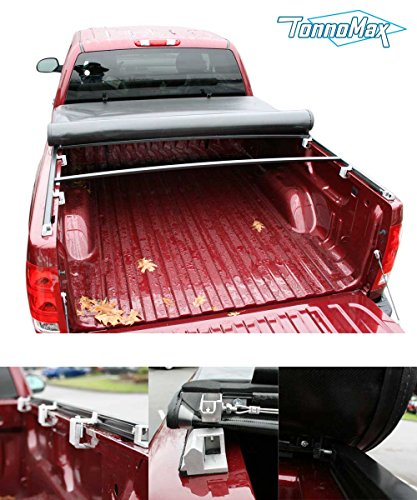 TONNOMAX TC-MLR27 SOFT ROLL UP TONNEAU COVER FOR DODGE DAKOTA STD/EXT CAB 6.5FT BED 2005-2011