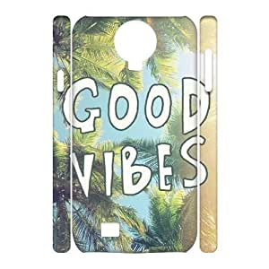 Good Vibes Brand New 3D Cover Case for SamSung Galaxy S4 I9500,diy case cover ygtg583272 by Maris's Diary
