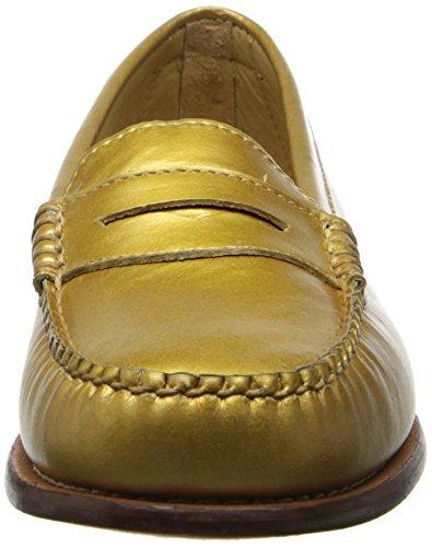 Gh Bas & Co. Dames Wayfarer Penny Loafer Goud