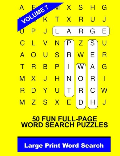 Download Large Print Word Search Vol. 7 ebook