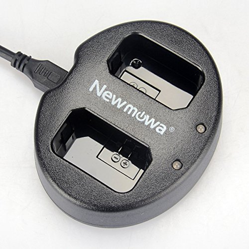 Newmowa Dual USB Charger for Sony NP-FW50 and Alpha a3000, Alpha a5000, Alpha a6000, A6300,Alpha 7, a7, Alpha 7R, a7R, Alpha 7S, a7S, NEX-3, NEX-3N, NEX-5, NEX-5N, NEX-5R, NEX-5T, NEX-6, ()