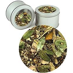 Ayurvedic Energizing Kapha Tea Indian Pure herbal Organic Ayurvedic Loose Tea Leaves (Buy 1 Get 1)Tea Leaves ( Makes 40 Cups) 2.82 oz By Nargis