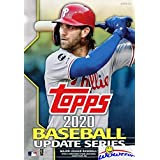 2020 Topps Update MLB Baseball HUGE Factory Sealed 67 Card Hanger Box with (4) EXCLUSIVE 2020 Turkey Red Inserts! Loaded with