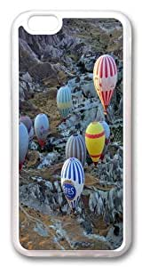 iPhone 6 plus Case and Cover -Balloon Aircraft Sport TPU Silicone Rubber Case Cover for iPhone 6 plus and iphone 6 plus 5.5 inch Transparent