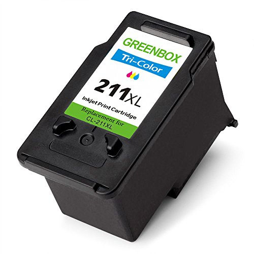 GREENBOX Remanufactured Ink Cartridge Replacement For Canon PG-210XL 210 XL CL-211XL 211 XL High Yield For CanonPIXMA IP2702 MP495 MP490 MP480 MP280 MX340 MX410 MX420 MX330 MX350 (1 Black+1 Tri-Color) Photo #6