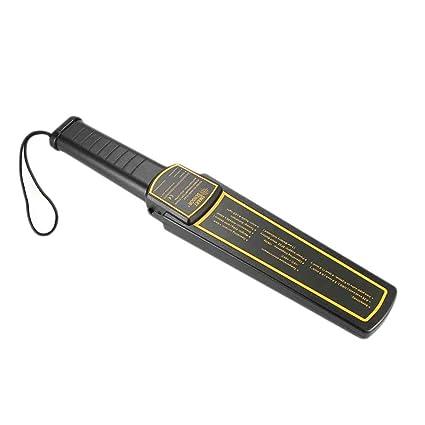 MUANI AR954 + Detector de Metales de Mano Security Check escáner buscador de Oro Cazador de