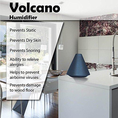 Advanced Pure Air Newport 'Volcano' Ultrasonic Cool Mist Humidifier