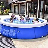 EPROSMIN Inflatable Ground Swimming Pool- 10 FT