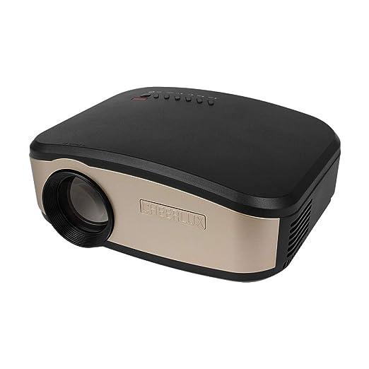 Proyector 1200 Lúmenes LED Video Proyector, Actualizado LCD ...
