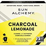 Sun Alchemy Charcoal Lemonade, Detox & Cleanse with Organic Lemon Juice, Coconut Water