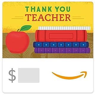 Amazon eGift Card - Thank You Teacher (Books) (B01MQWMDRK) | Amazon price tracker / tracking, Amazon price history charts, Amazon price watches, Amazon price drop alerts