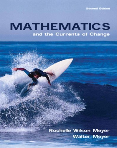 Mathematics and the Currents of Change (2nd Edition)