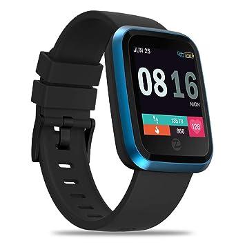 Pulsera Inteligente para Deporte, Nuevo Zeblaze Crystal 2 Reloj Inteligente IP67 Resistente al Agua Dispositivo usable Monitor de frecuencia cardíaca Color ...