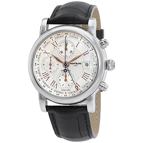 Montblanc Star Roman Men's Beige Dial Leather automatic Watch – 113880