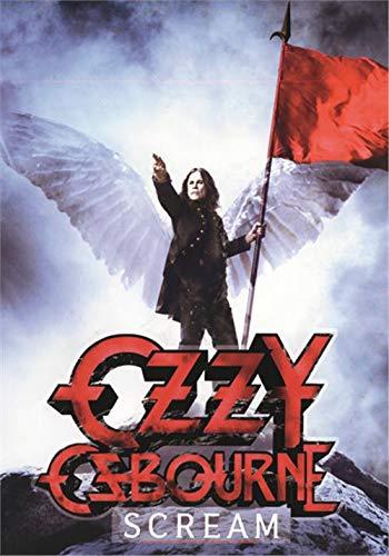Ozzy Osbourne Flag Poster Flag Scream ()