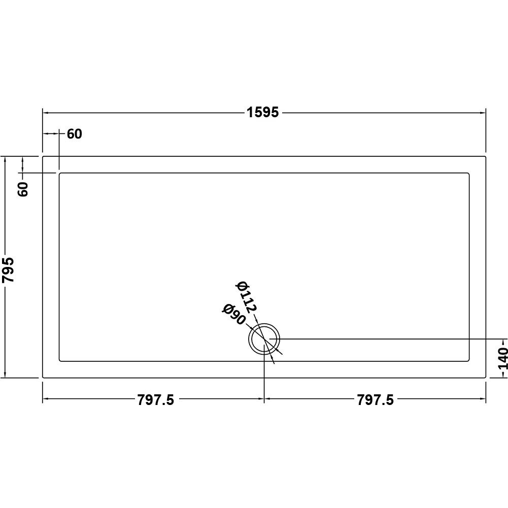 Elegant 1000mm Walk in Shower Screen 6mm Tougheded Safety Wet Room with 300mm Flipper Panel,Aluminum Support bar Included
