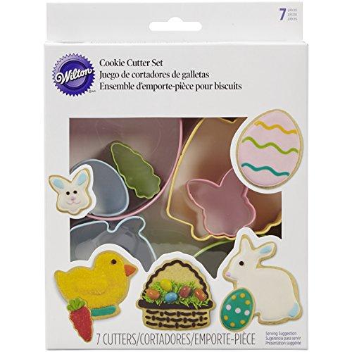 2308-4457 Wilton 7-Piece Easter Cookie Cutter Set