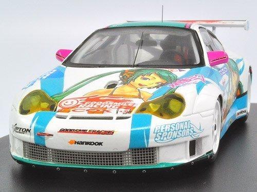 1/43 ポルシェ 911 GT3R 初音ミク×GSRポルシェ タイプD(ホワイト×グリーン) 152431