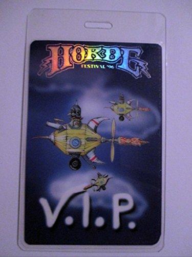 1996 Horde Phish Laminated Backstage Pass Foil V.i.p. Lenny Kravitz Blues Traveler