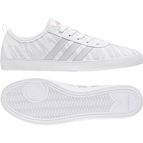 adidas QT Vulc 2.0 W, Zapatillas de Gimnasia Para Mujer Gris (Grey One F17/haze Coral S17)
