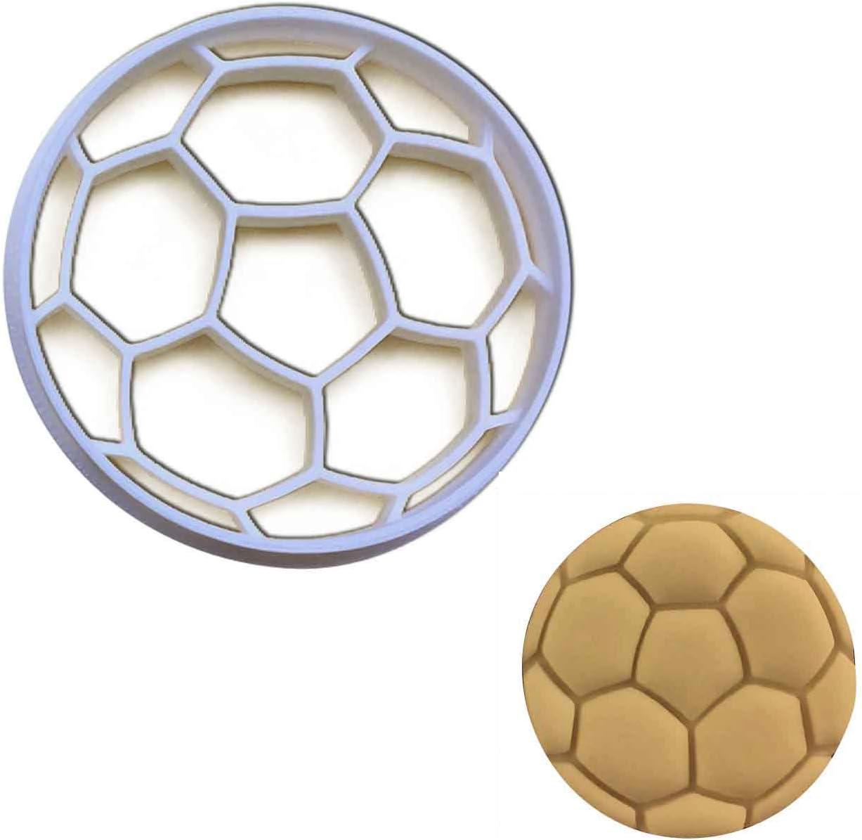 Cortador de galletas de balón de fútbol, 1 pieza - Bakerlogy ...