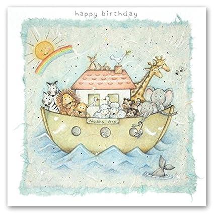 Tarjeta de cumpleaños infantil (BP-LO-13) - Noahs Ark ...