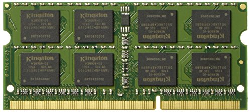 Kingston Technology 8GB 1600MHz DDR3L (PC3-12800) 1.35V Non-ECC CL11 SODIMM Intel Laptop Memory - Unbuffered Non Memory Ecc 3200