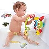 SINDBIN 12 PCS Non-Slip Bathtub Stickers, Sea