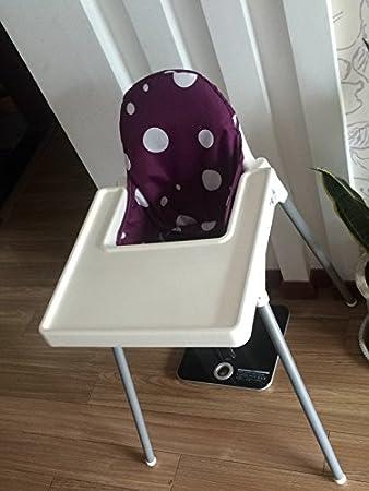 Amazon.com: IKEA - Fundas de asiento y cojín para silla alta ...