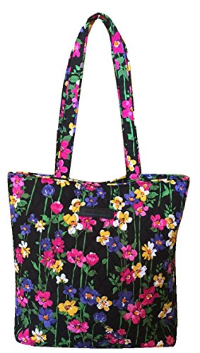 Vera Bradley Tote with Solid Color Interior (Updated Version) (Wildflower Garden) (Large Clutch Vine Wallet)
